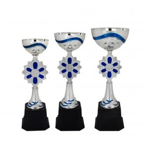 Acrylic Trophies AC4015 – Acrylic Bowl & Flower Trophy