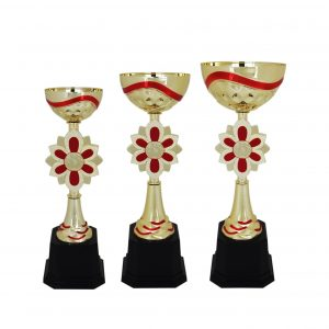 Acrylic Trophies AC4016 – Acrylic Bowl & Flower Trophy