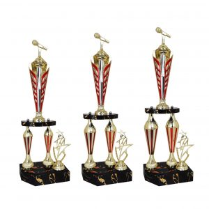 Acrylic Trophies AC4040 – Acrylic Microphone & Star Trophy