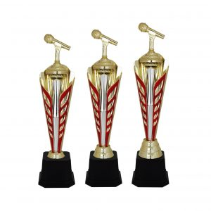 Acrylic Trophies AC4041 – Acrylic Microphon Trophy