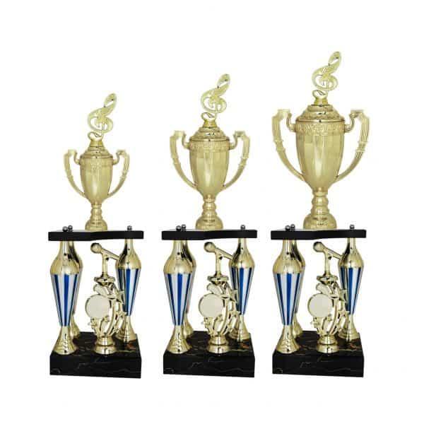 Acrylic Trophies AC4042 – Acrylic Music & Microphone Trophy