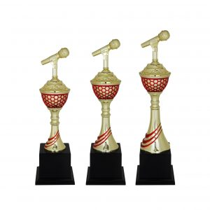 Acrylic Trophies AC4045 – Acrylic Microphone Trophy