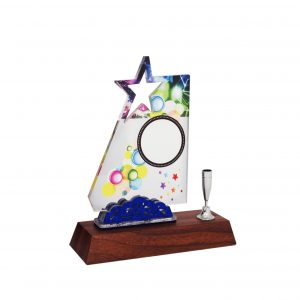 Acrylic Plaques AC4137 – Acrylic Star Plaque