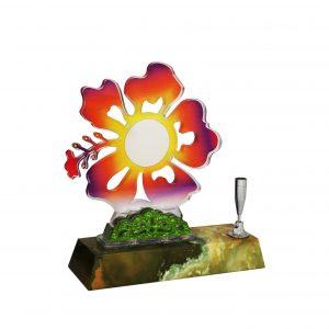 Acrylic Plaques AC4138 – Acrylic Hibiscus Plaque
