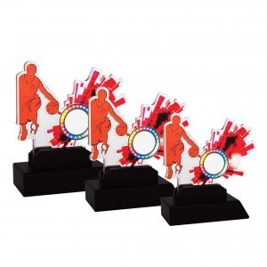 Acrylic Plaques AC4152 – Acrylic Basketball Plaque