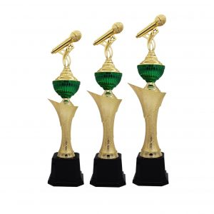 Acrylic Trophies AC4193 – Acrylic Microphone Trophy
