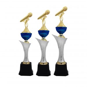 Acrylic Trophies AC4194 – Acrylic Microphone Trophy