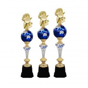 Acrylic Trophies AC4212 – Acrylic Star & Globe Trophy