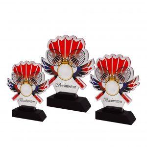 Acrylic Plaques AC4256 – Acrylic Badminton Plaque