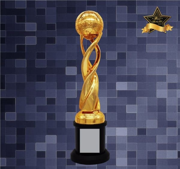 Sculpture Trophies AC4287 – Exclusive Globe Sculptures Awards