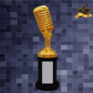 Sculpture Trophies AC4295 – Exclusive Microphone Sculptures Awards