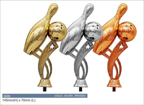 Plastic Trophies ACPF-02 B – Bowling Plastic Top Holder