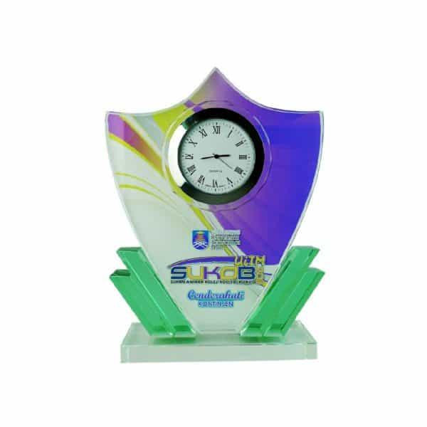 Clock Plaques CL2001 – Exclusive Crystal Clock Series