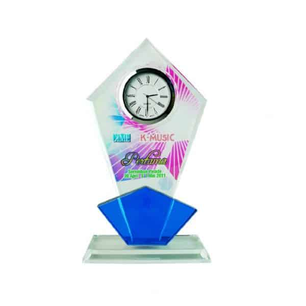 Clock Plaques CL2002 – Exclusive Crystal Clock Series