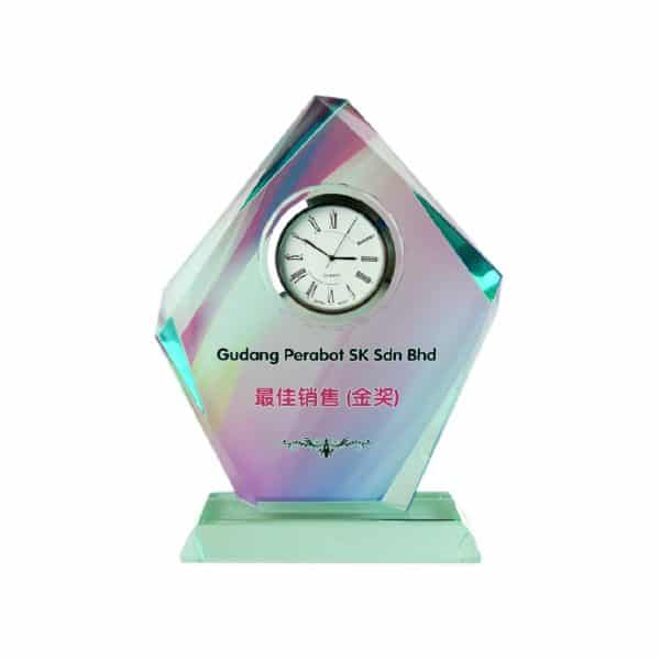 Clock Plaques CL2004 – Exclusive Crystal Clock Series