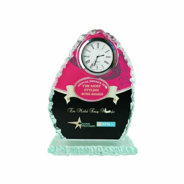 Clock Plaques CL2005 – Exclusive Crystal Clock Series