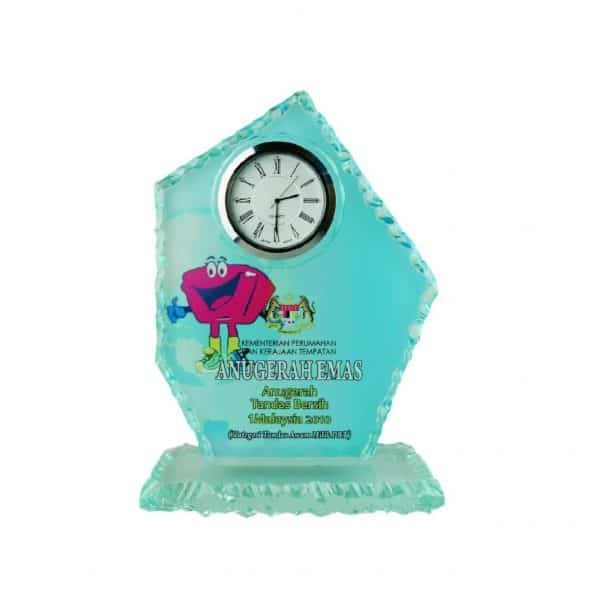 Clock Plaques CL2007 – Exclusive Crystal Clock Series