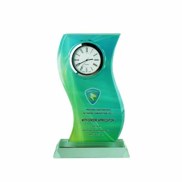 Clock Plaques CL2009 – Exclusive Crystal Clock Series