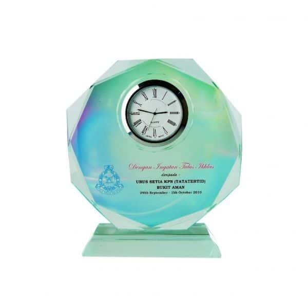 Clock Plaques CL2010 – Exclusive Crystal Clock Series