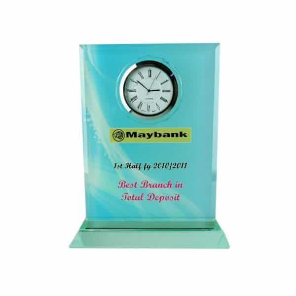 Clock Plaques CL2011 – Exclusive Crystal Clock Series