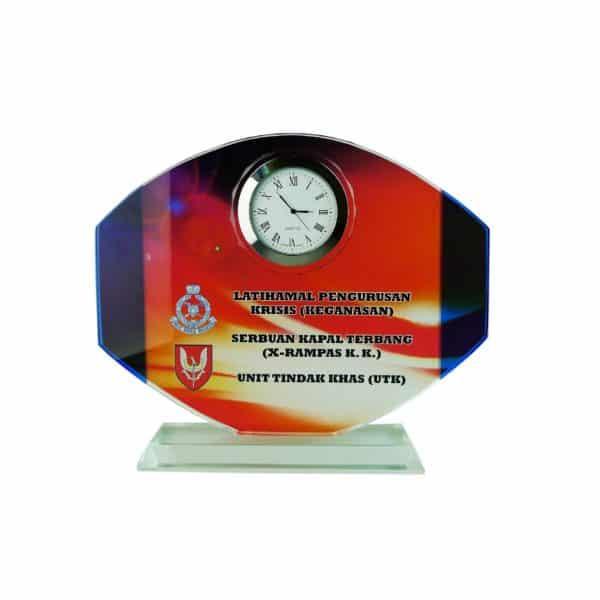 Clock Plaques CL2012 – Exclusive Crystal Clock Series