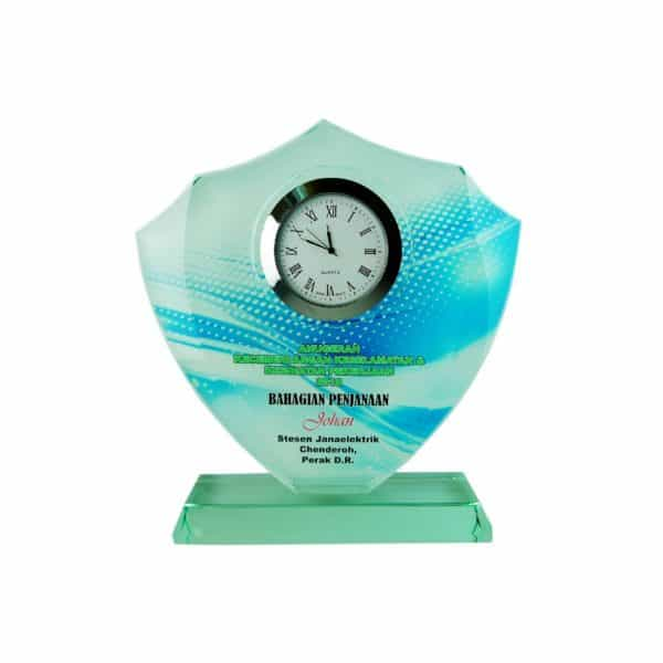 Clock Plaques CL2013 – Exclusive Crystal Clock Series