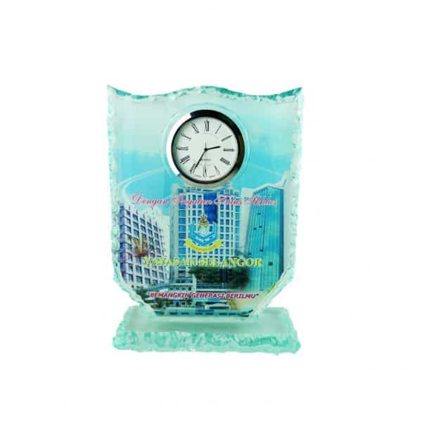 Clock Plaques CL2014 – Exclusive Crystal Clock Series