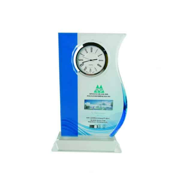 Clock Plaques CL2017 – Exclusive Crystal Clock Series