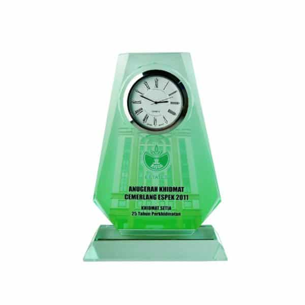 Clock Plaques CL2018 – Exclusive Crystal Clock Series