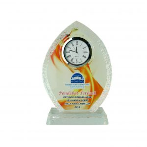 Clock Plaques CL2024 – Exclusive Crystal Clock Series