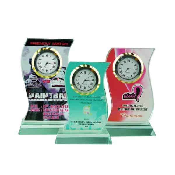 Clock Plaques CL2035 – Exclusive Crystal Clock Series