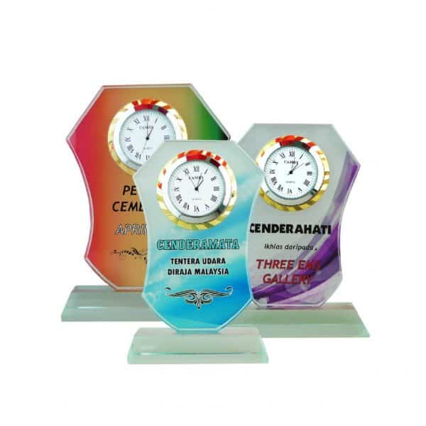 Clock Plaques CL2040 – Exclusive Crystal Clock Series