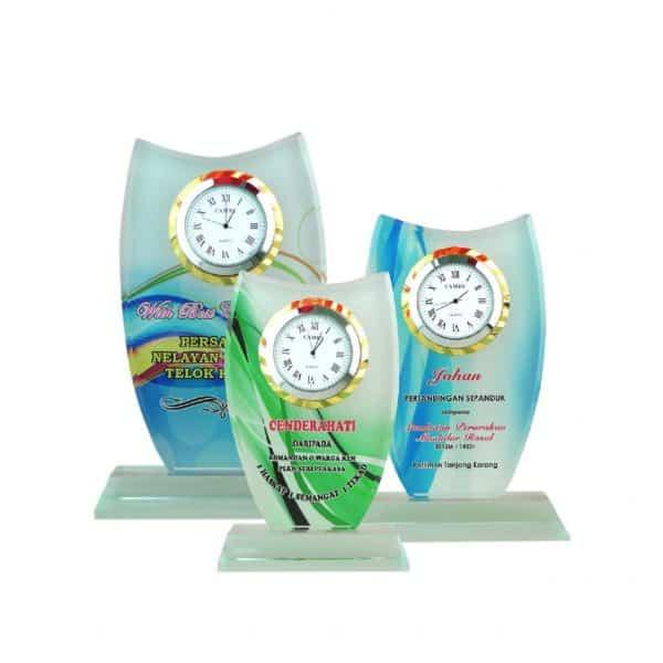 Clock Plaques CL2043 – Exclusive Crystal Clock Series