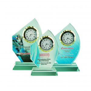Clock Plaques CL2044 – Exclusive Crystal Clock Series