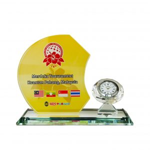 Clock Plaques CL2055 – Exclusive Crystal Clock Series