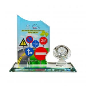 Clock Plaques CL2056 – Exclusive Crystal Clock Series