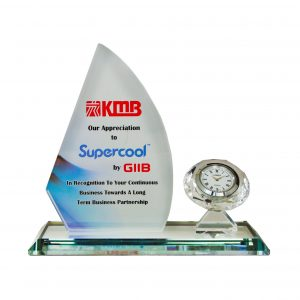 Clock Plaques CL2057 – Exclusive Crystal Clock Series