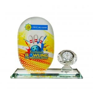 Clock Plaques CL2058 – Exclusive Crystal Clock Series