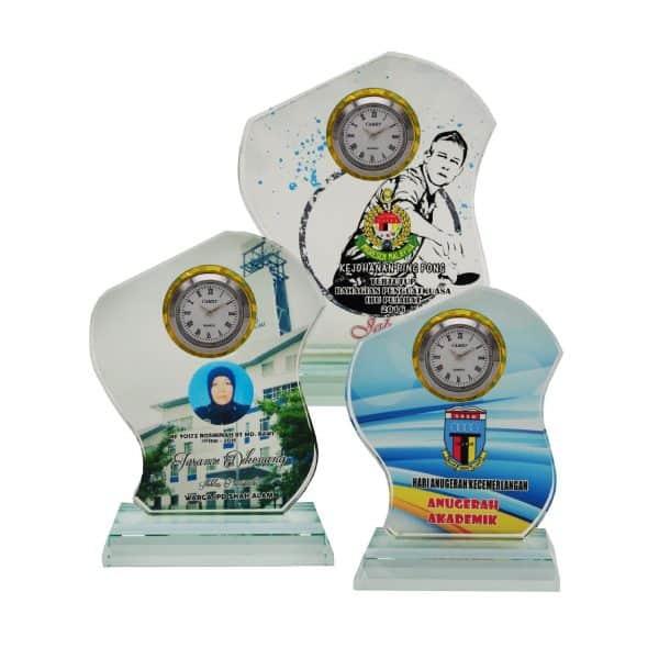 Clock Plaques CL2068 – Exclusive Crystal Clock Series