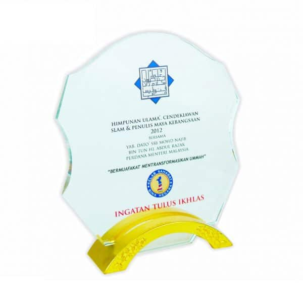 Crystal Plaques CR3000 – Exclusive Crystal Plaque