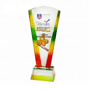 Crystal Plaques CR3019 – Exclusive Liuli Crystal Trophy