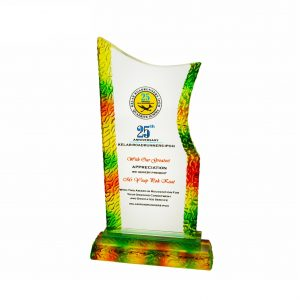 Crystal Plaques CR3021 – Exclusive Liuli Crystal Trophy