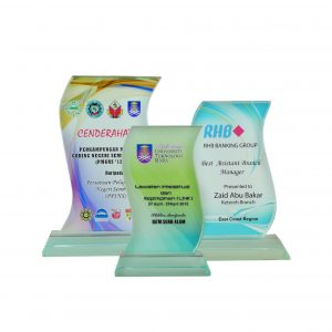 Crystal Plaques CR8001 – Exclusive Crystal Glass Awards