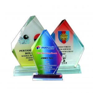 Crystal Plaques CR8012 – Exclusive Iceberg Crystal Glass Awards