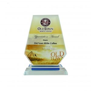 Crystal Plaques CR8035 – Exclusive Shield Crystal Glass Awards