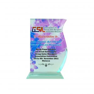 Crystal Plaques CR8063 – Exclusive Crystal Glass Awards