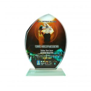 Crystal Plaques CR8066 – Exclusive Crystal Glass Awards