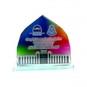 Crystal Plaques CR8067 – Exclusive Crystal Glass Awards