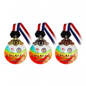 Crystal Medals CR8092 – Crystal Hanging Medal (GOLD, SILVER, BRONZE)
