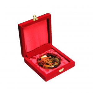 Crystal Medals CR8119 – Velvet Box With Crystal Medal